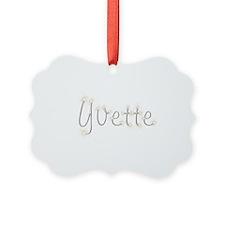 Yvette Spark Ornament