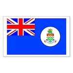 Cayman Islands Rectangle Sticker