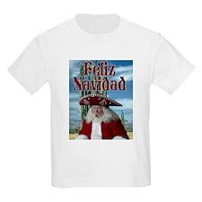 Feliz Navidad 1 Kids T-Shirt