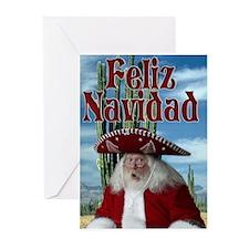 Feliz Navidad 1 Greeting Cards (Pk of 10)