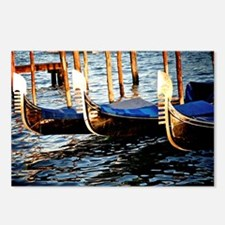 Gondolas of Venice Postcards (Package of 8)