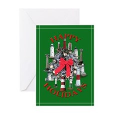 Lighthouses of England Greeting Card