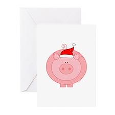 HolidayPig Greeting Cards