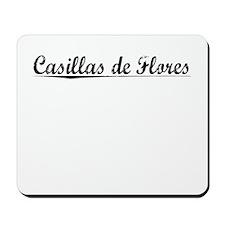 Casillas de Flores, Aged, Mousepad