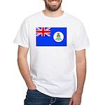 Cayman Islands White T-Shirt