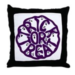 A Groan of Ghosts Throw Pillow