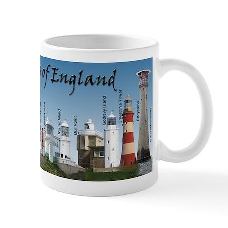 Lighthouses of England Mug
