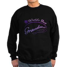 World's Best Grandma (purple) Sweatshirt