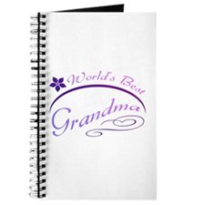 World's Best Grandma (purple) Journal