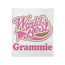 Grammie (Worlds Best) Throw Blanket