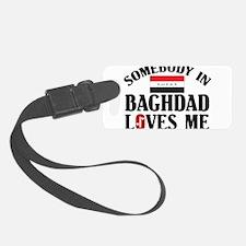 Somebody In Baghdad Luggage Tag