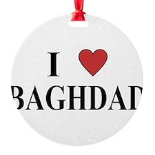I Love Baghdad Ornament