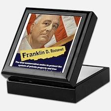 The True Conservative - FDR Keepsake Box