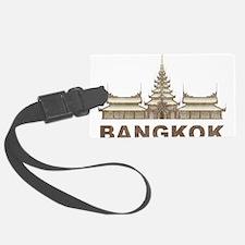 Vintage Bangkok Temple Luggage Tag