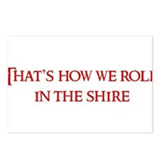 Roll in the Shire Postcards (Package of 8)