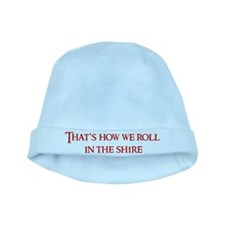 Roll in the Shire baby hat