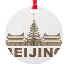 Vintage Beijing Temple Ornament