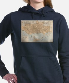 Vintage Map of Toronto (1906) Sweatshirt