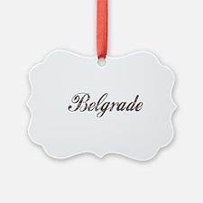 Vintage Belgrade Ornament