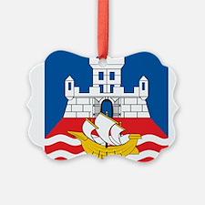 Belgrade Flag Ornament