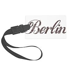 Vintage Berlin Luggage Tag
