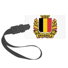 Stylized Brussels Crest Luggage Tag