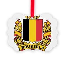 Stylized Brussels Crest Ornament