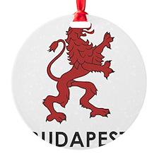 Budapest Lion Ornament