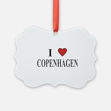 I Love Copenhagen Ornament