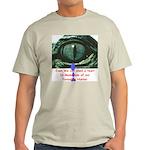 Shed a Crocodile Tear Ash Grey T-Shirt