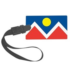 Denver Flag Luggage Tag