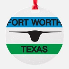 Fort Worth Flag Ornament