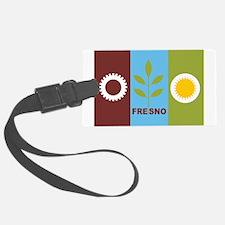 Fresno Flag Luggage Tag