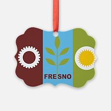 Fresno Flag Ornament