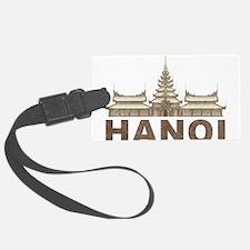 Vintage Hanoi Temple Luggage Tag