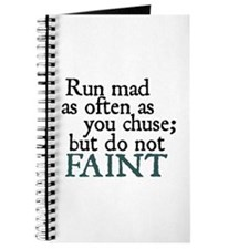 Jane Austen Run Mad Journal