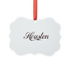 Vintage Houston Ornament