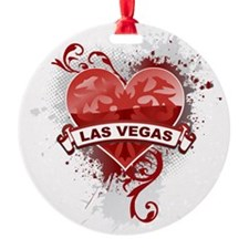 Heart Las Vegas Ornament