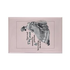 Jane Austen Corsair Rectangle Magnet