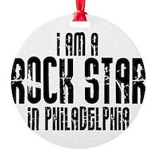 Rock Star In Philadelphia Ornament