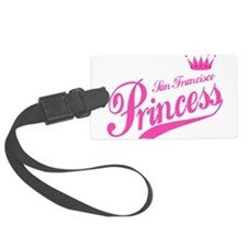 San Francisco Princess Luggage Tag