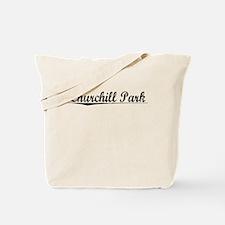 Churchill Park, Aged, Tote Bag