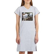 Fainting goats Women's Nightshirt