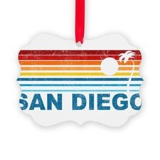 Palm Tree San Diego Ornament