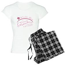 World's Best Great Grandma (pink) pajamas