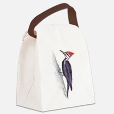 handsome pileated woodpecker Canvas Lunch Bag
