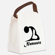 Namaste Canvas Lunch Bag