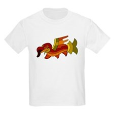 Colorful Bird Kids T-Shirt