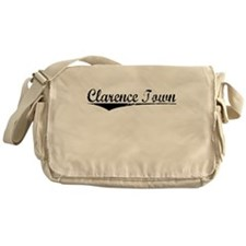 Clarence Town, Aged, Messenger Bag