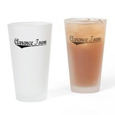Clarence Town, Aged, Drinking Glass